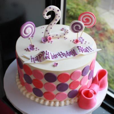... girls girl 2nd birthday little girls cakes 2nd birthday ideas