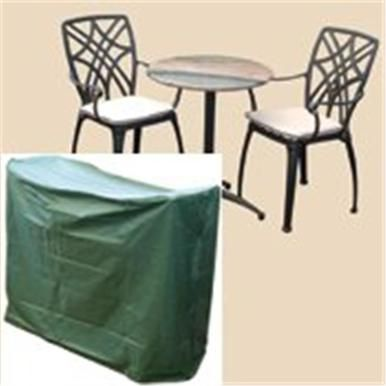 Bosmere C511 Bistro Set Cover For Round Table 2 Chairs Patio Garden Bistro Set Set Cover Patio Chairs