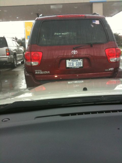 ICQ até na placa do automóvel!
