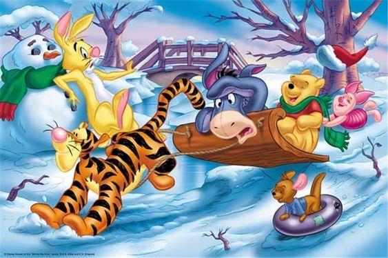 Disney Winter Wallpaper | Winnie the Pooh Christmas - Christmas Photo (2735508) - Fanpop ...