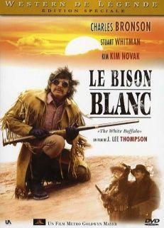Le Bison blanc (The White Buffalo), est un western américain réalisé par J. Lee Thompson, avec Charles Bronson, sorti en 1977. Wild Bill Hickok (Charles Bronson) est hanté par un cauchemar où un monstrueux bison blanc le poursuit dans un paysage enneigé. Au même moment, un bison blanc fait son apparition dans le Dakota et sème la panique dans un village Indien, tuant l'enfant du chef Sioux Crazy Horse