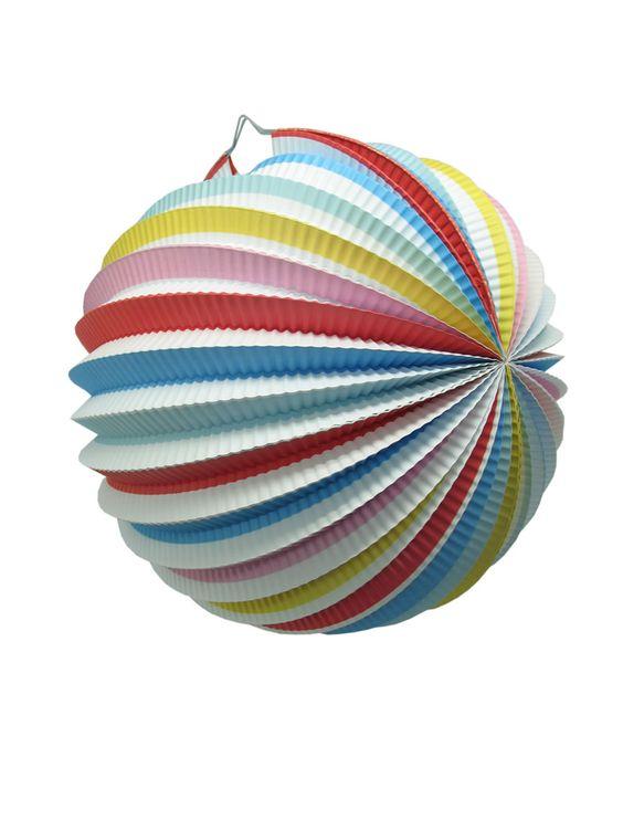 Paper Lantern Stripe Pack 6 from Domayne Online