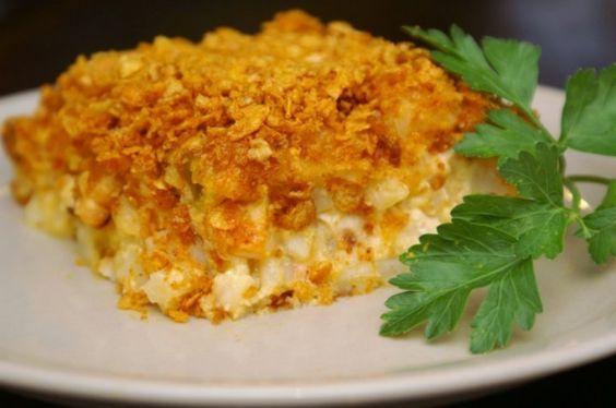 Nacho Chicken  Potato Bake Recipe