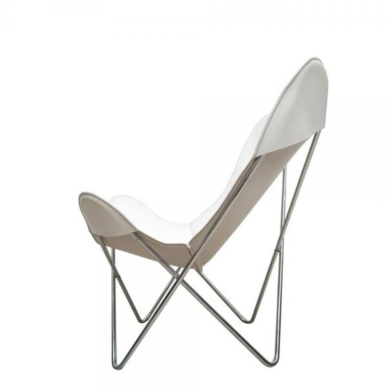 Dimension Mm W870 D800 H940 Seat Height 360 Hkd 10 500 Butterfly Chair Chair White Butterfly