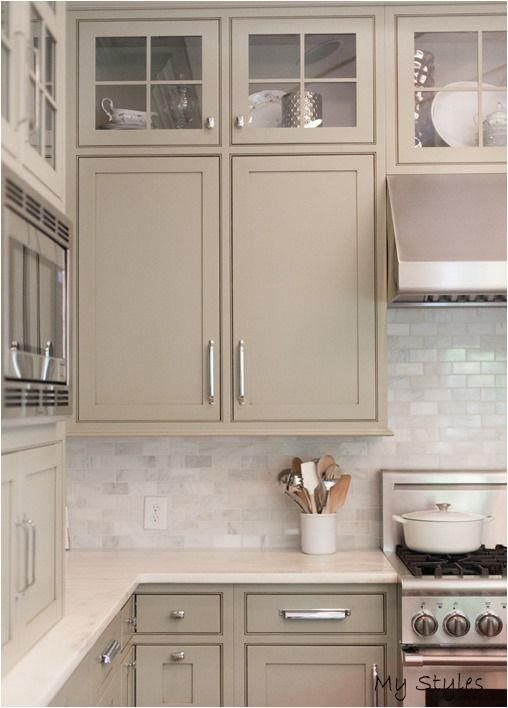 Dec 8 2015 Would You Paint Your Walls This Popular Shade In 2020 Taupe Kitchen Cabinets Taupe Kitchen Trendy Kitchen Backsplash