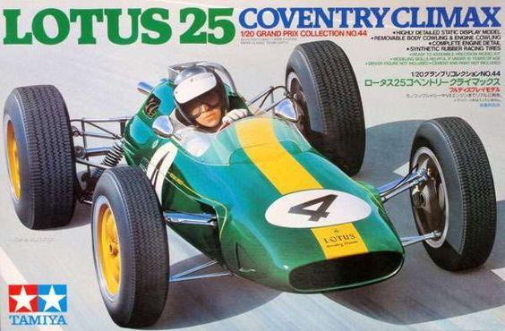 Tamiya Lotus 25 Coventry Climax Formula 1 Item 20044 20 Scale