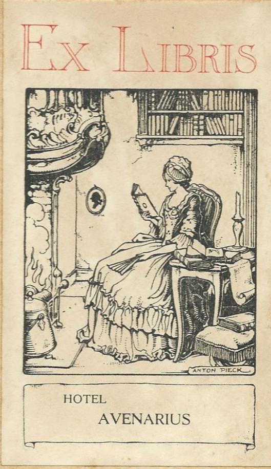 Anton Pieck als tekenaar van Heemsteedse en Haarlemse/Bloemendaalse taferelen