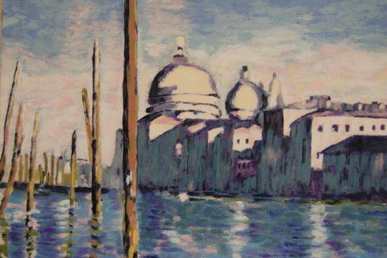 Venise Grand Canal d'après Claude Monet par TableauxFPolisano