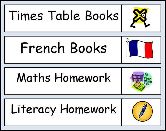 Sen homework ideas for teachers