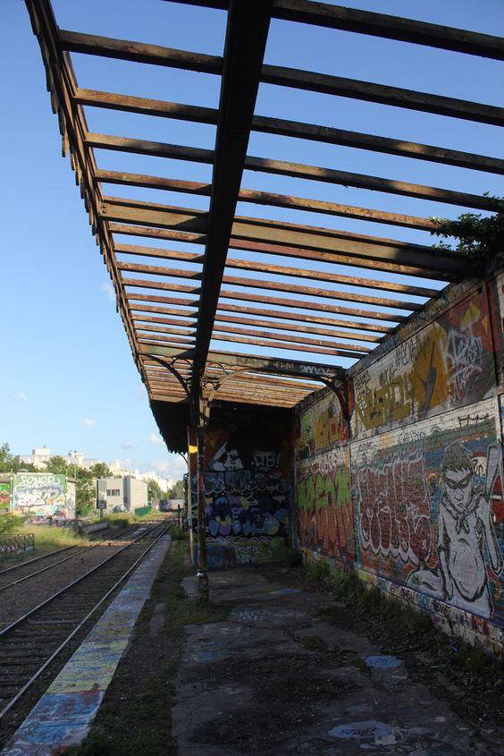 petite ceinture ancienne gare de charonne