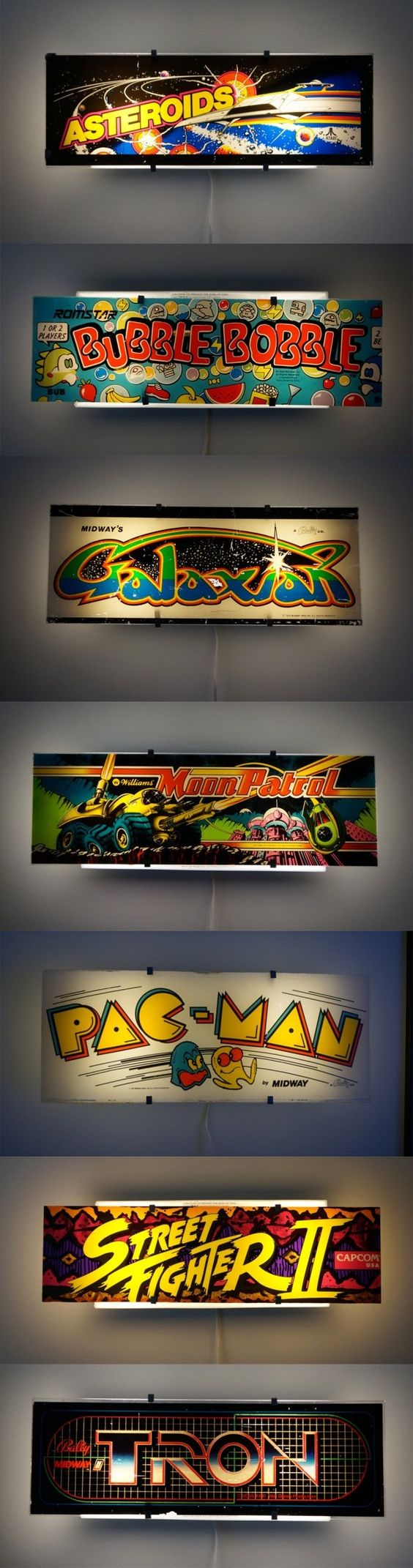 Arcade Lights Bring the Arcade Experience Home (Minus the Games)