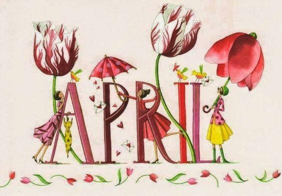 April: