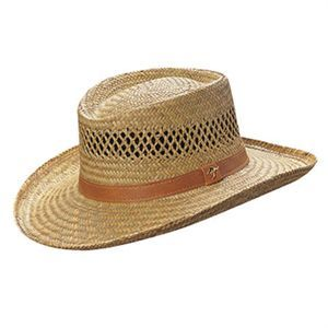 A great addition to your outdoor summer wardrobe, this men's straw hat is perfect to wear during the hot weather. Made from a lightweight rush material with a large brim, this hat will provide you with shade and help keep you cool.