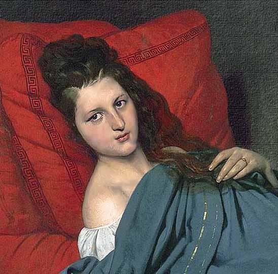 Retrato de joven - Joseph Court