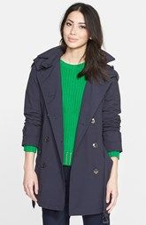MICHAEL Michael Kors Double Breasted Soft Trench Coat