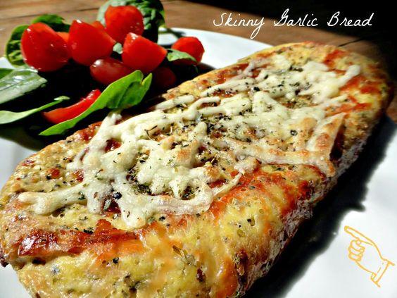 Cheese garlic sticks using cauliflower bread