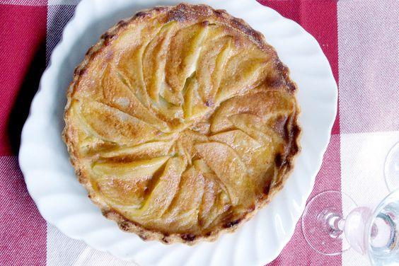 the apple tart