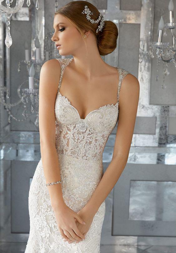 Mori Lee 8185 Morella Lace Wedding Dress