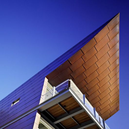 Coppercraft Copper Coil And Sheets From Omnimax Copper Roof Roofing Systems Architecture