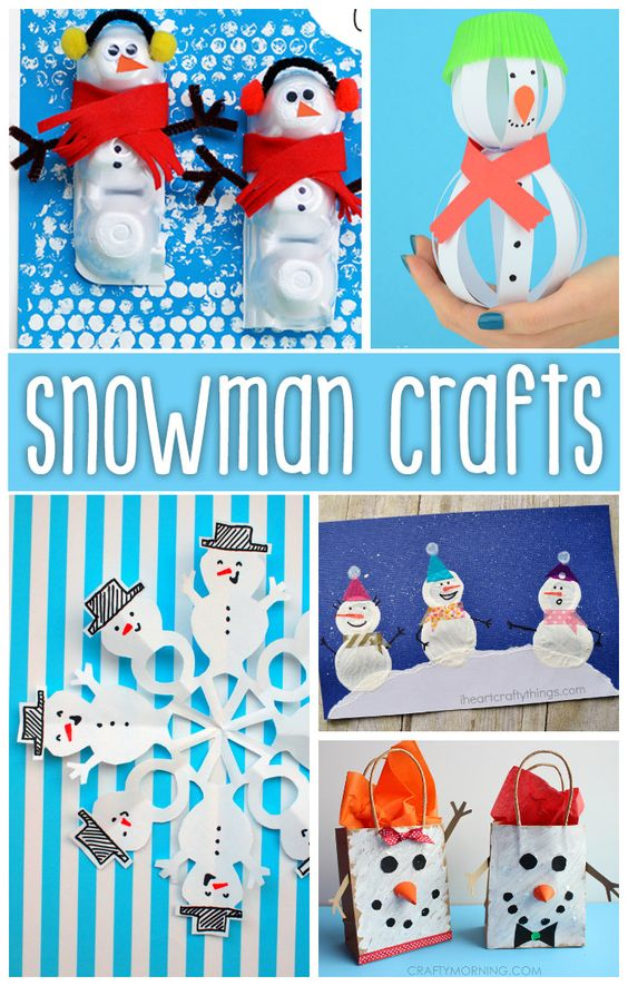 snowman crafts challenge snowman crafts challenge for easy peasy and crafts 2962