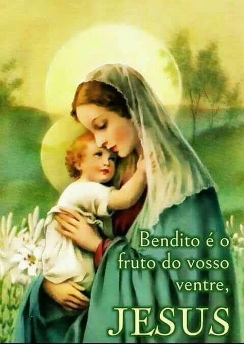 Pin De Maria De Fatima Gomes Em Bom Dia Maria Mae De Jesus