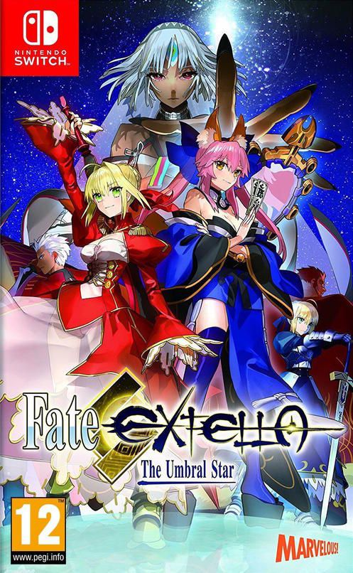 Fate Extella The Umbral Star Nintendo Switch Games Nintendo Switch Fate