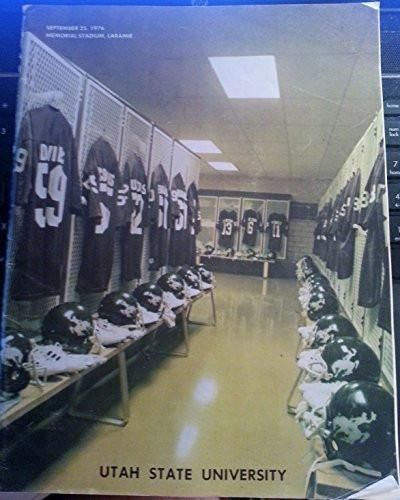 9/25/1978 UTAH STATE VS UNIVERSITY OF WYOMING COLLEGE FOOTBALL PROGRAM