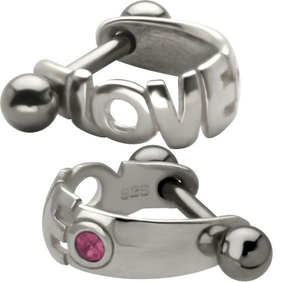 OVE Huggie Micro Cuff - 925 Sterling Silver Helix Piercing Cartilage Earring