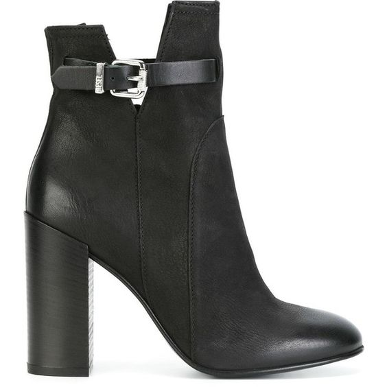 Diesel buckled ankle boots (19,435 MKD) ❤ liked on Polyvore featuring shoes, boots and ankle booties