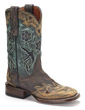 Dan Post Bluebird Western Boots Australia Womens
