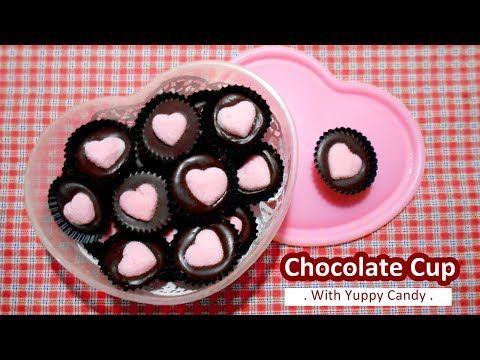Chocolate Yupi Cantik Dan Mudah Youtube Kue Lebar Permen Kue Coklat