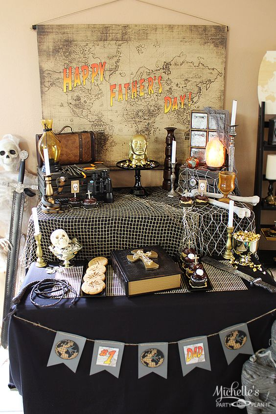 Indiana Jones Party by Michelle's Party Plan-It