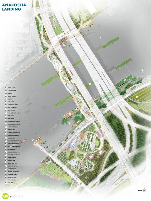 4 Visions Released for D.C.'s First Elevated Park | ArchDaily