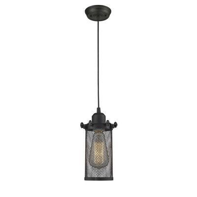 Innovations Lighting Quincy Hall 1 Light Mini Pendant Finish: