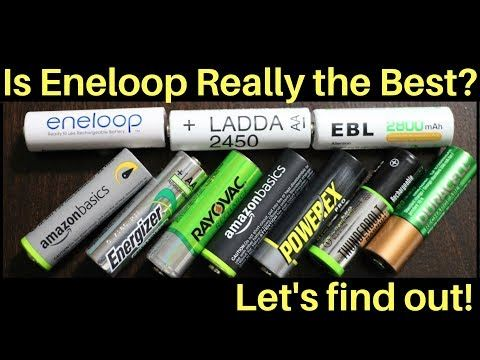 Which Rechargeable Battery Is The Best Let S Find Out Youtube Rechargeable Batteries Battery Duracell