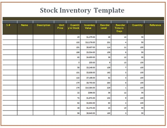 Download Invoice With Proposed GST in Union Budget 2017 Excel - inventory template
