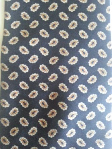 Crooks and Creed London Silk Black Paisley Tie | eBay