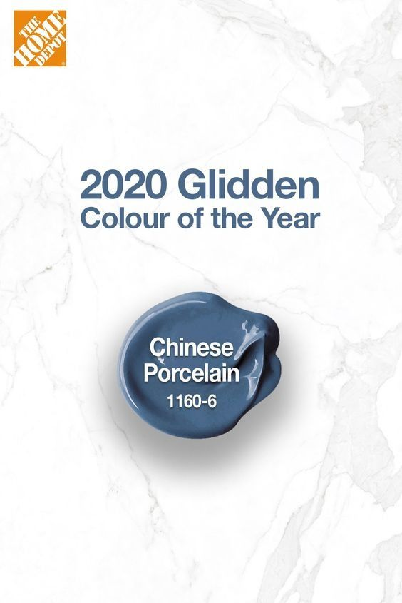 The 2020 Glidden Colour Of The Year Is Chinese Porcelain This