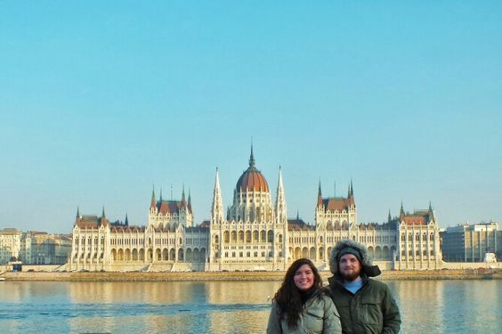 Parlament building in Budapest.