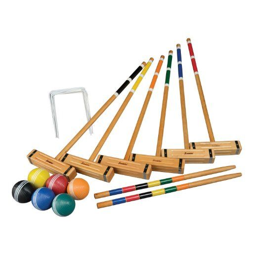 Franklin Sports Classic Croquet Set