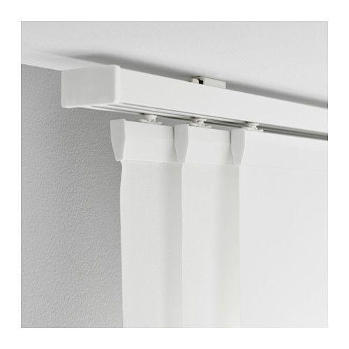 Binari Per Ante Scorrevoli Ikea.Vidga Binario Per Tenda Triplo Bianco 140 Cm Tende A Pannello