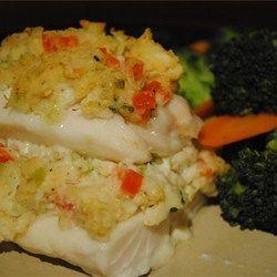 Crab Stuffed Haddock