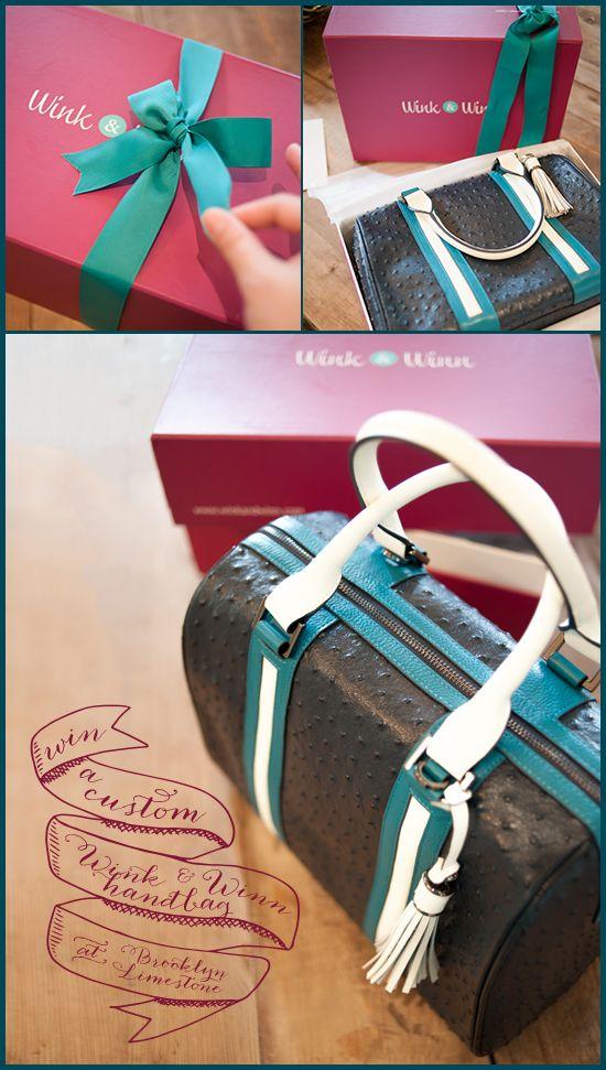 Custom Wink & Winn Handbag