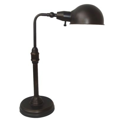 Threshold Pharmacy Desk Lamp   Bronze
