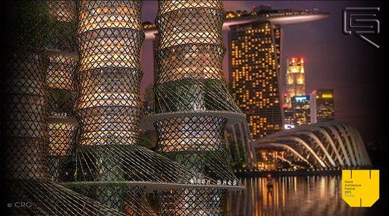 Bamboo Skyscraper 9