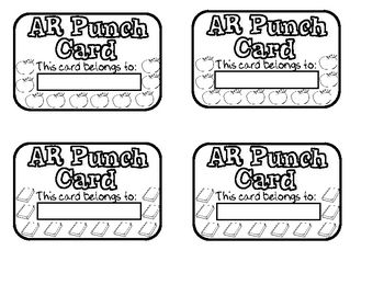 Use these cards as a reward and motivation system for students to use with Accelerated Reader. After each completed AR test that the students pass ...