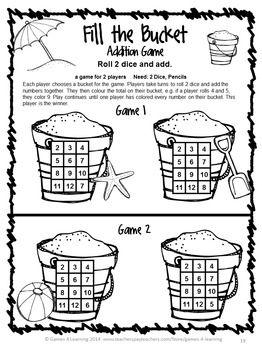 math worksheet : math games end of year and math on pinterest : Math Games Worksheet