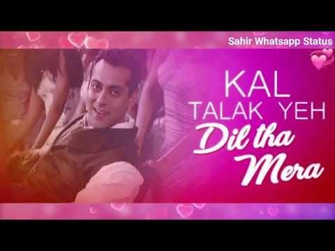 Kya Mohabbat Hai Kya Nazara Hai Jaan Meri Ja Rahi Sanam Whatsapp Status Salman Khan Movie Lucky Youtube Best Love Songs Bollywood Songs Saddest Songs