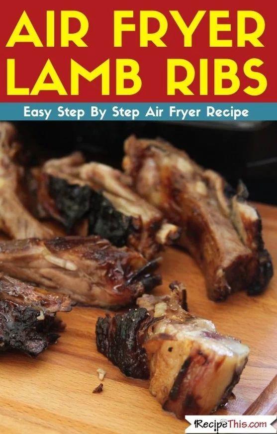 Air Fryer Lamb Ribs Recipe This Lamb Ribs Recipes Rib Recipes