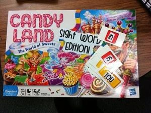 candy land...sight word edition by graciela